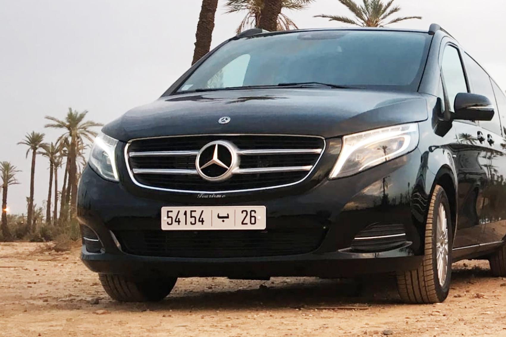 Location voiture de luxe avec chauffeur