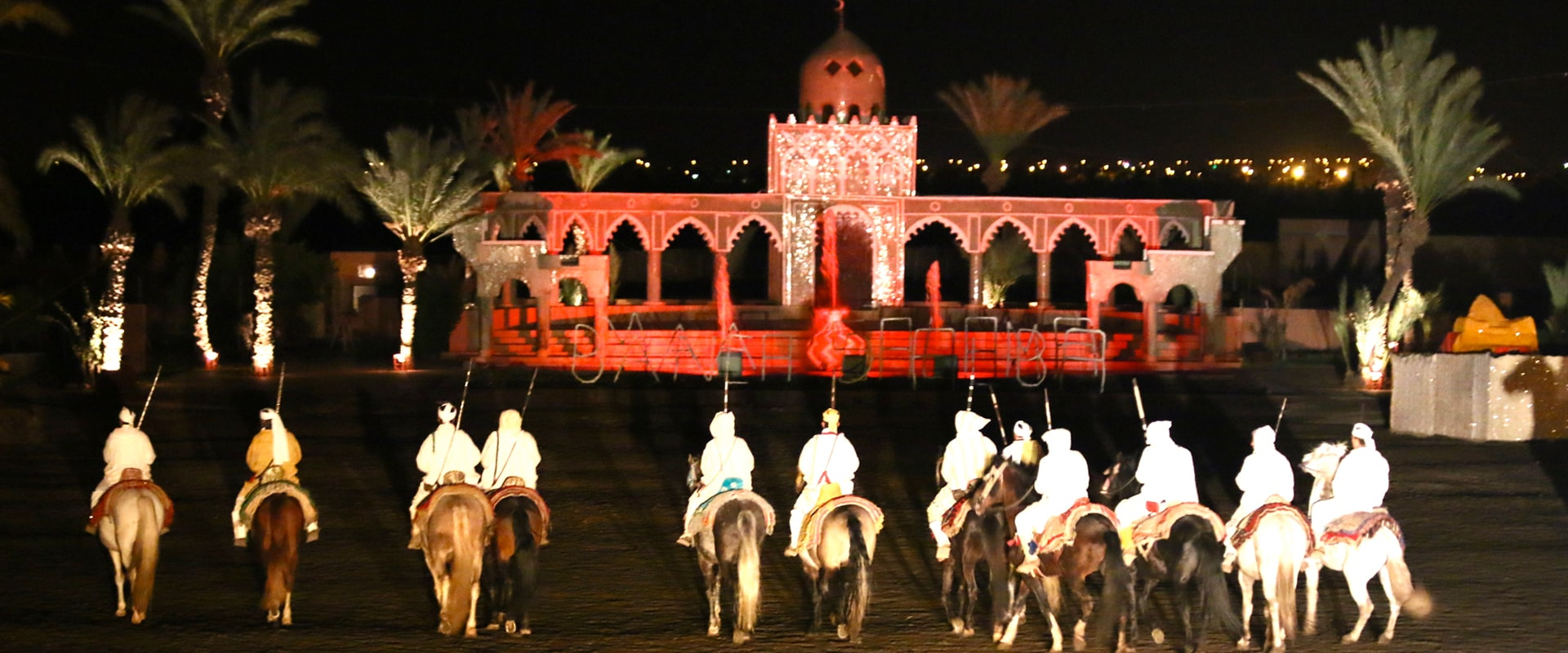 diner spectacle marrakech