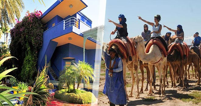 journee à Marrakech
